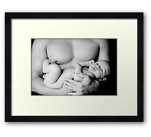 his protector Framed Print