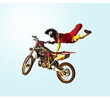 My Bike Brings Me In The Sky: I Can Fly! Photographic Print