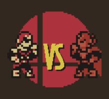 8-BIT VS. - Mighty Punches by rabbitlegs
