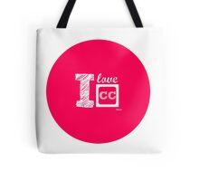 I Love Closed Captioning Tote Bag