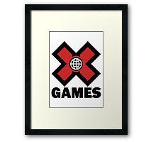 X-Games Framed Print