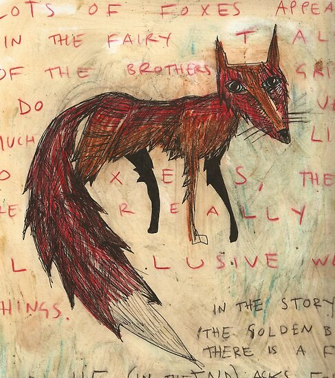 a fox by Cat Bruce