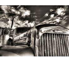 Mack  B model in Black and White Photographic Print