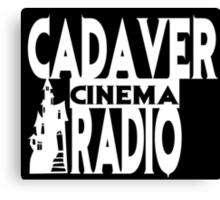 Cadaver Cinema Logo Canvas Print