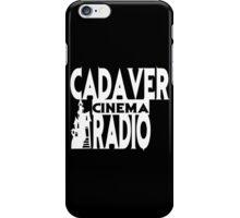 Cadaver Cinema Logo iPhone Case/Skin