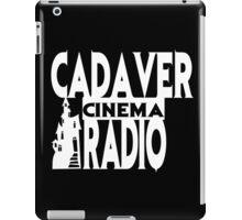 Cadaver Cinema Logo iPad Case/Skin