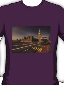 Westminster Bus Stop  T-Shirt