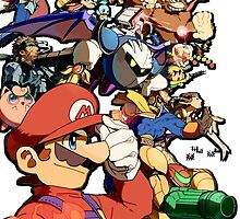 Super Smash Bros. Characters by Camilo Montalvo