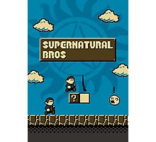 Supernatural Bros. Photographic Print