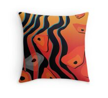Gondwana River Throw Pillow