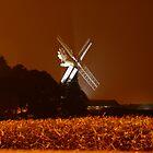 Skidby Mill at Night by Wrigglefish