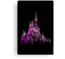 The Happiest Place on Earth Canvas Print