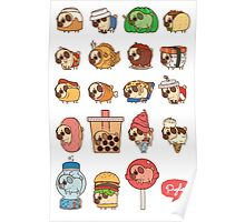 Puglie Food and Drinks Poster