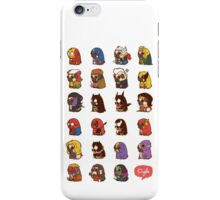 Puglie Heroes & Villains iPhone Case/Skin