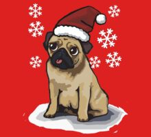 Christmas Pug by Ben Farr