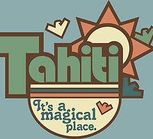 Tahiti by TEWdream