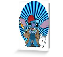 Doctor Who Stitch Greeting Card