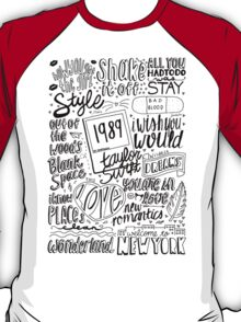 taylor swift collage T-Shirt