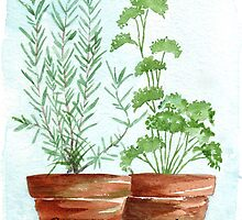 Rosemary and Parsley by Maree  Clarkson