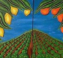 Two fruit farms by Guy Wann