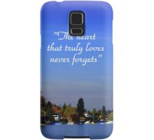 The Beauty of Zurisee Samsung Galaxy Case/Skin
