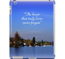 The Beauty of Zurisee iPad Case/Skin