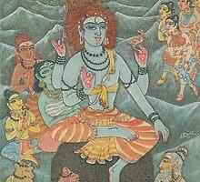 Shiva Gives Discourse on Yoga by Swagavad-Gita