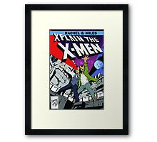 Rachel and Miles X-Plain the X-Men Framed Print