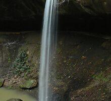 Broke Leg Falls (Spring) by Sherri Hamilton