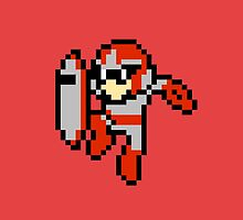 Red Megaman by alphallama