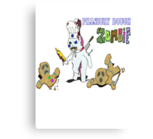 Pillsbury Dough Boy Zombie Canvas Print