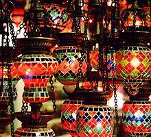 Lanterns in the Grand Bazaar by Camilla