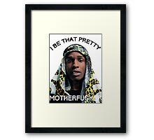 ASAP Pretty MF Framed Print