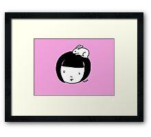 Bunnygirl Framed Print