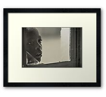 'Aching,' Northern Rwanda Framed Print