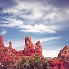 Red Rocks of Sedona by PatGoltz