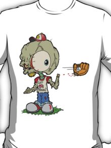 Let's Play Catch Zombie T-Shirt