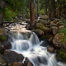 Mt. Evans Waterfalls by John  De Bord Photography