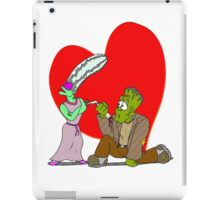 Monster Proposal iPad Case/Skin