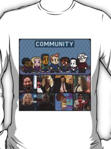 The Greendale Seven (and the Changlorious Bastard) T-Shirt