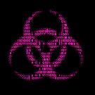 Binary Biohazard (Pink) by GrimDork