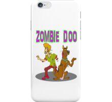 Zombie Scooby Doo iPhone Case/Skin