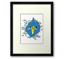 Wolverine is Coming for ya Framed Print
