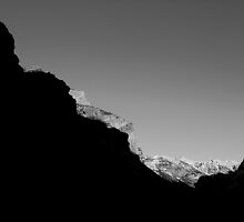 Mountain Abstract I by JVBurnett