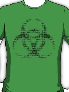 Binary Biohazard (Black) T-Shirt