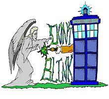 Don't Blink Tardis by Skree
