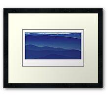 The Blue Ridge Mountains - 2 Framed Print