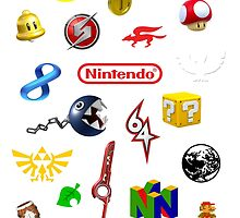 Nintendo collage by Otie