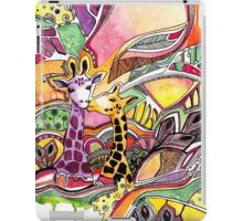 Giraffes in love iPad Case/Skin