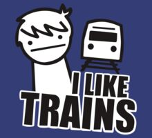 ASDF I LIKE TRAINS VIDEO MOVIE FUNNY by putracom87